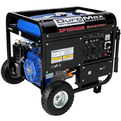 DuroMax XP1OOOOE, 4-Cycle Gas Powered, 10,000 Watt 16 HP OHV Portable Generator