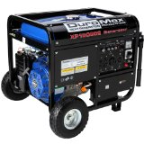 DuroMax XP10000E 10,000 Watt 16 HP OHV 4-Cycle Gas Powered Portable Generator