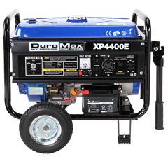 DuroMax XP4400E OHV 4-Cycle, 4,400 Watt, 7.0 HP Gas Powered Portable Generator